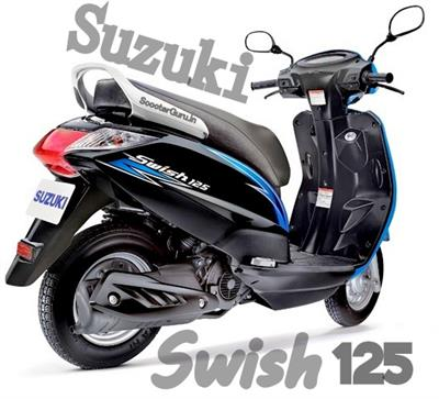 Suzuki Swish 125 in a new look