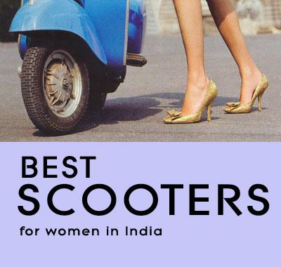 best-scooters-for-women-in-India