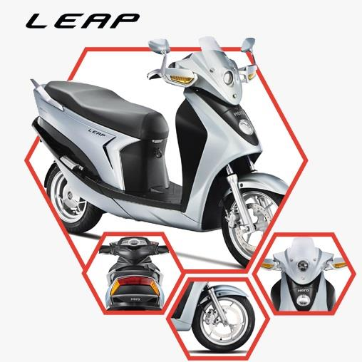 Hero Leap hybrid electric scooter
