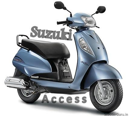 Suzuki Access Scooter