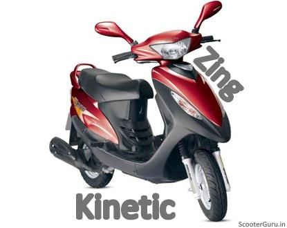 Kinetic Zing Scooter